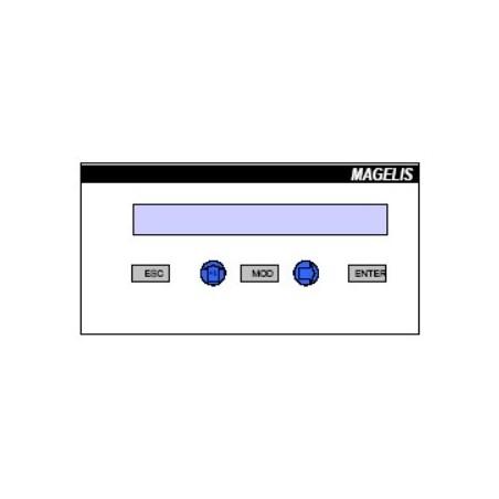 XBTH811050 : Afficheur Magelis 24VDC et 5 VDC (LCD)