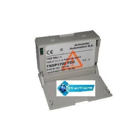 TSXP1720FD2 : Cartouche micro-logicielle