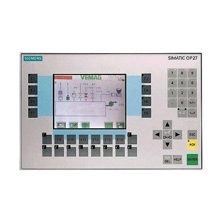 6AV3627-1JK00-0AX0 : Afficheur + clavier OP27 mono