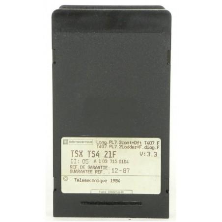 TSXTS450F : Cartouche logicielle pour T407
