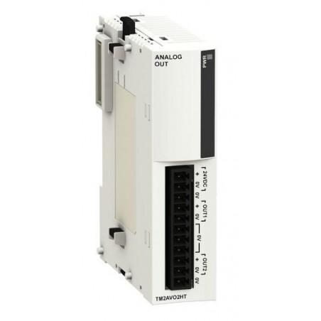 TWDAV02HT : module 2S avec bornier