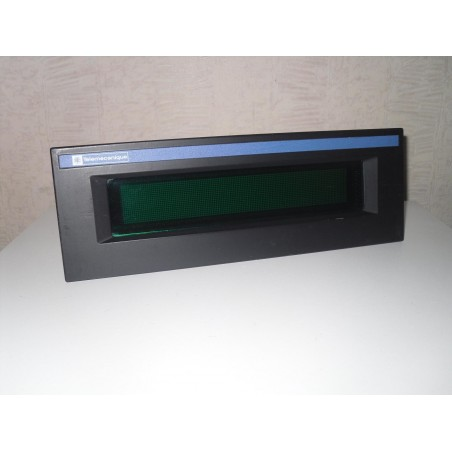 XBTML801010 : Afficheur 1 ou 2 lignes 24VDC Multilingue