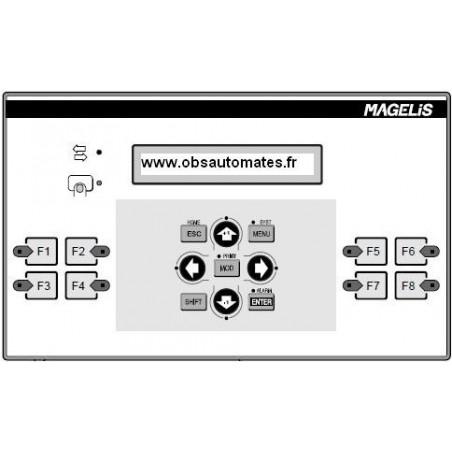 XBTP012010 : Terminal Magelis 24VDC fluorescent