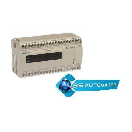 TSX07312428 : TSX Nano 24 E/S 100/240VAC