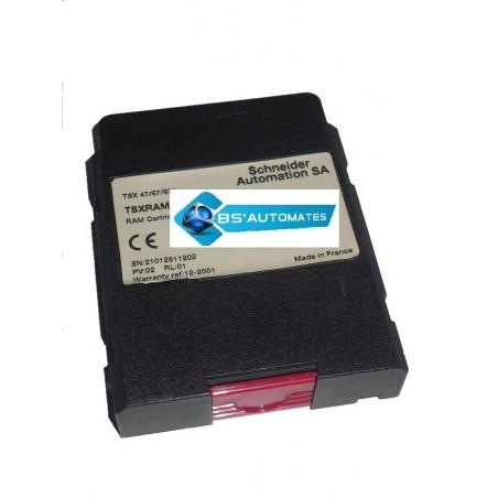 TSXRAM51216 : cartouche mémoire RAM 512K mots